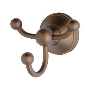6623 Perrin & Rowe Wall Mounted Triple Robe Hook